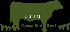 JJJM Grass Fed Beef Logo